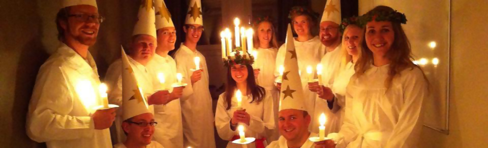 Traditional Lucia celebration